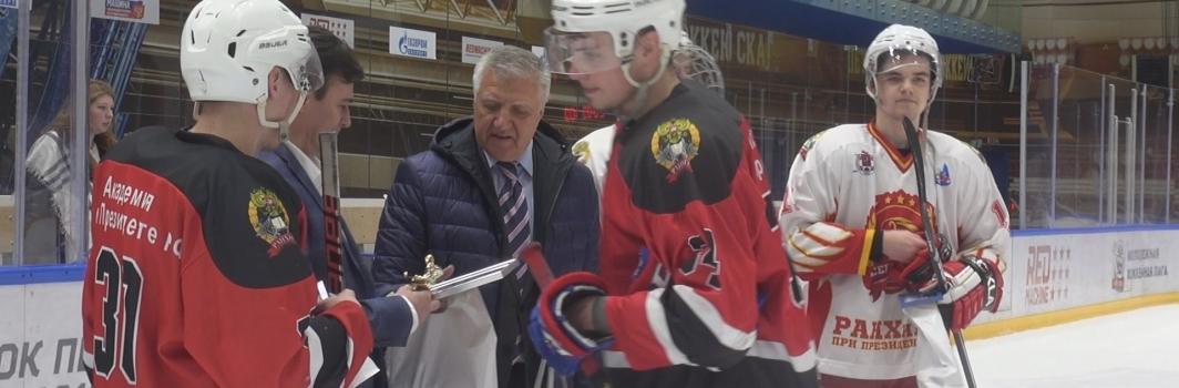 Хоккейная сборная СЗИУ РАНХиГС одержала победу над столичной командой РАНХиГС в товарищеском матче