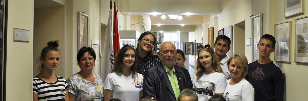 Волгоградские школьники посетили ФСТ