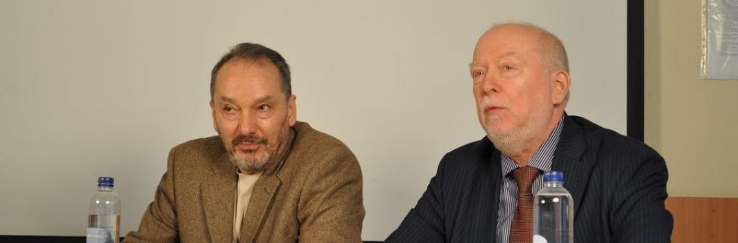Психотерапевт и общественный деятель Лев Щеглов встретился со студентами ФСТ