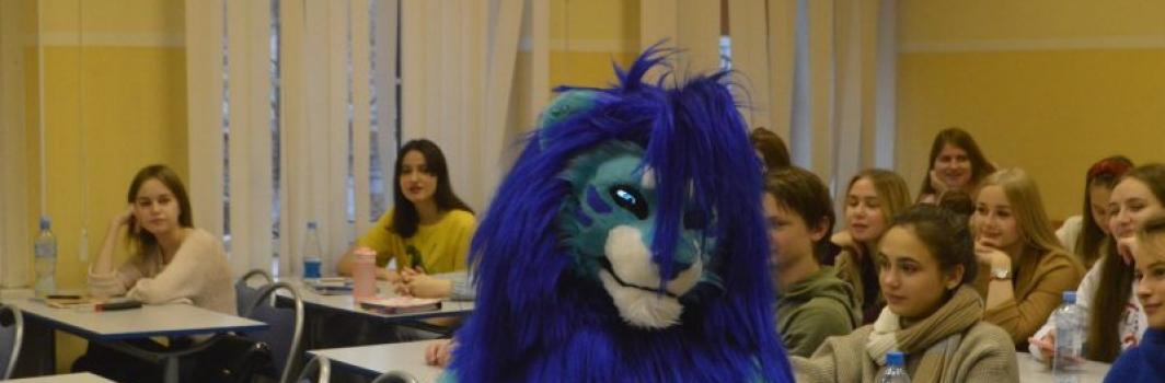 ФСТ посетил маскот Баскетбольного клуба «Зенит»